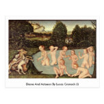 Diana And Actaeon By Lucas Cranach (I) Post Card