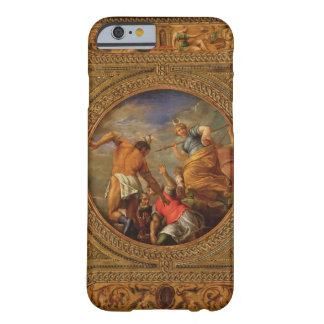 Diana and Actaeon, from the ceiling of the library iPhone 6 Case