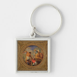 Diana and Actaeon, from the ceiling of the library Keychain