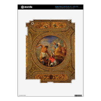 Diana and Actaeon, from the ceiling of the library Skin For iPad 3
