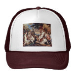 Diana And Callisto By Tizian (Best Quality) Trucker Hat