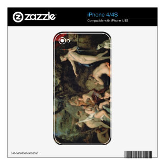 Diana and Callisto Decals For iPhone 4