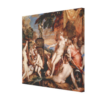 Diana and Callistos Canvas Print