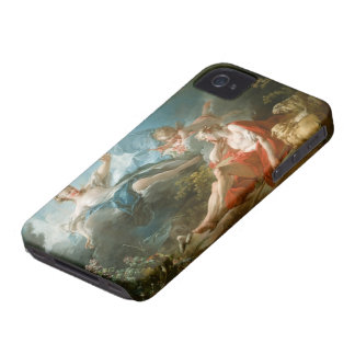 Diana and Endymion By Jean-Honoré Fragonard iPhone 4 Covers