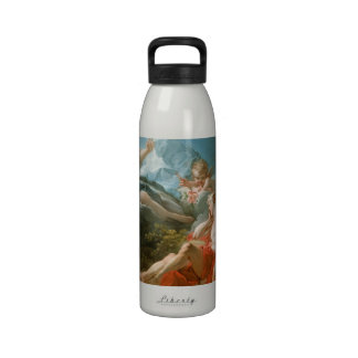 Diana and Endymion By Jean-Honoré Fragonard Reusable Water Bottles