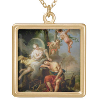 Diana and Endymion Gold Plated Necklace
