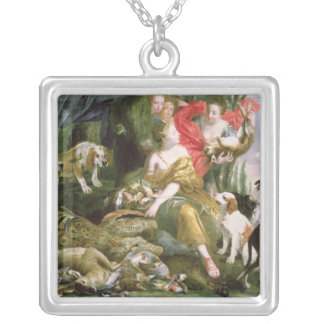 Diana and her handmaidens after the hunt custom necklace