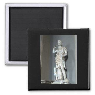 Diana (Artemis) Statue in the Vatican in Rome 2 Inch Square Magnet
