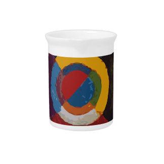 Diana colorida jarra para bebida