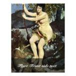 Diana como Huntress de Pierre-Auguste Renoir Flyer Personalizado