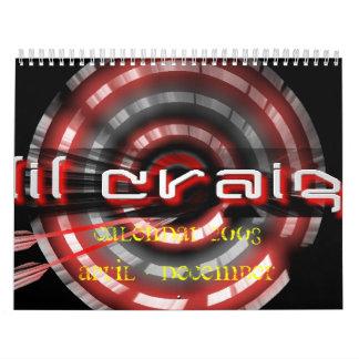 diana de Craig del lil, CALENDARIO 2OO 8 de abril