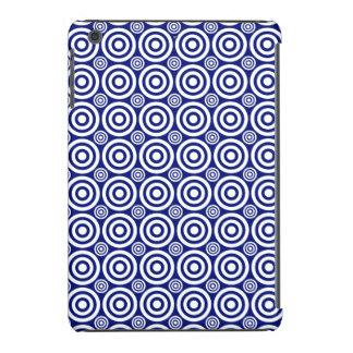 Diana de la blanco, mini caso del iPad Blanco-Azul Fundas De iPad Mini