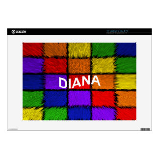 """DIANA DECAL FOR 15"""" LAPTOP"""