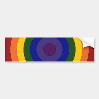 Diana del arco iris etiqueta de parachoque