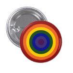 Diana del arco iris chapa redonda 2,5 cm