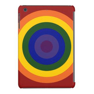 Diana del arco iris fundas de iPad mini retina