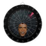"Diana del ""perfil"" de presidente Barack Obama Tablero De Dardos"