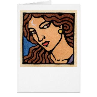 Diana Greeting Card