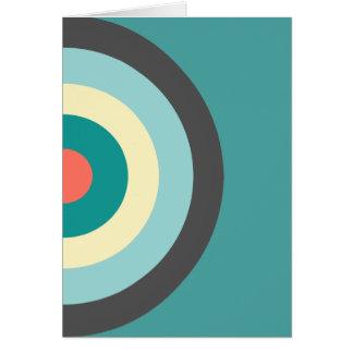 Diana gris de la combinación tarjeta de felicitación