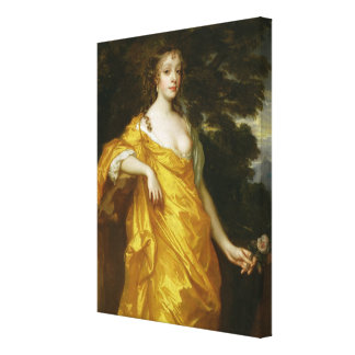 Diana Kirke, Later Countess of Oxford, c.1665-70 ( Canvas Print