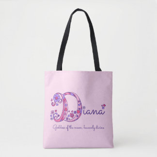 Diana name and meaning monogram bag
