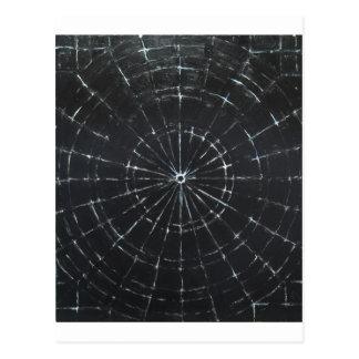 Diana negra (minimalism negro) postal
