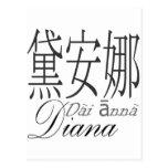 Diana Post Card