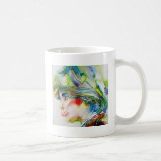 diana,princess of wales - watercolor portrait.1 coffee mug