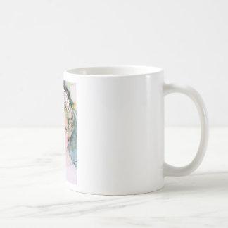 diana,princess of wales - watercolor portrait.2 coffee mug