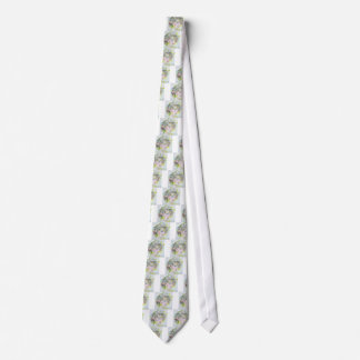 diana,princess of wales - watercolor portrait.3 neck tie