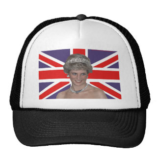 Diana que enarbola pabellón gorras de camionero