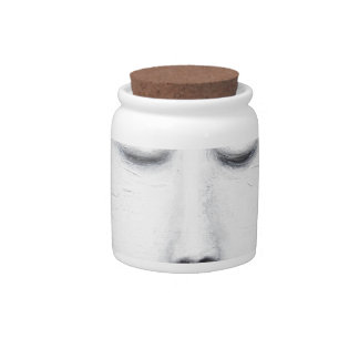 Diana Sleeping Full Moon (Surreal Realism) Candy Dishes