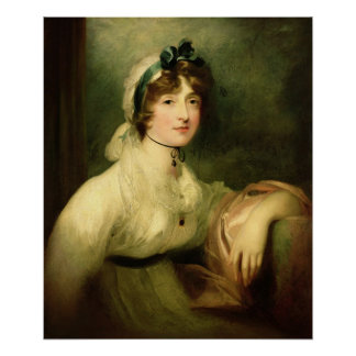 Diana Sturt, later Lady Milner, 1800-05 Poster