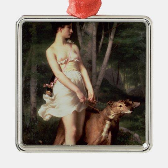 Diana the Huntress Metal Ornament