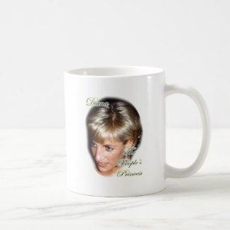 Diana the peoples princess coffee mug