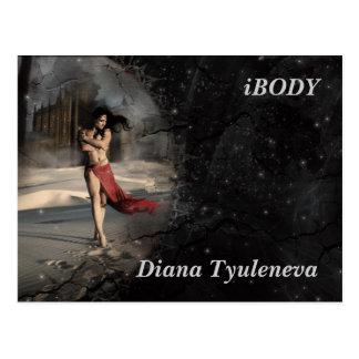 Diana Tyuleneva - Alone With My Thoughts, iBODY Postcard