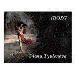 Diana Tyuleneva - solamente con mis pensamientos,  Tarjeta Postal