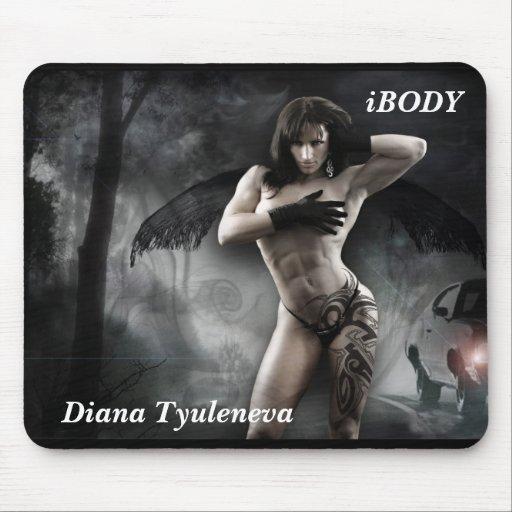 Diana Tyuleneva Vampiress Mousepad Alfombrilla De Raton