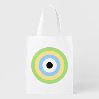 Diana verde de la combinación bolsa reutilizable