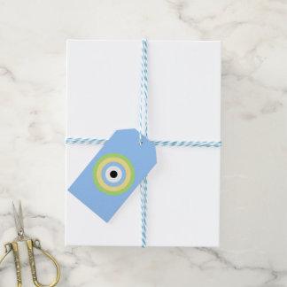 Diana verde de la combinación etiquetas para regalos