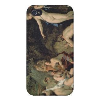 Diana y Callisto iPhone 4 Carcasa