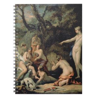 Diana y Callisto Spiral Notebooks