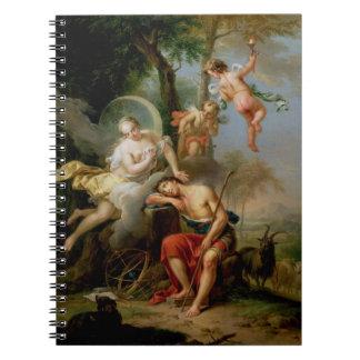 Diana y Endymion Libreta Espiral