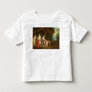 Diana y sus doncellas, después de la caza, 1626 playera de bebé