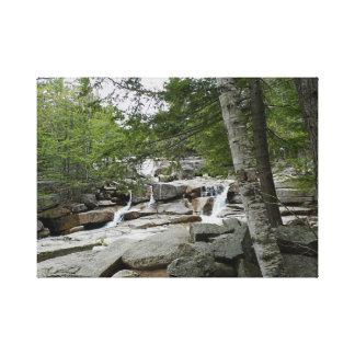 Diana's Baths, New Hampshire Canvas Print
