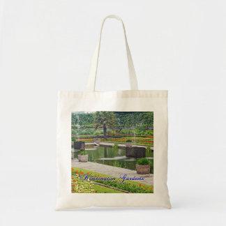 Diana's Garden Budget Tote Bag