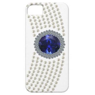 Diana's Sapphire Choker Necklace iPhone SE/5/5s Case