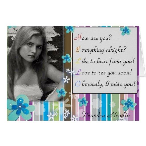 Diandra Newlin - Blank Card