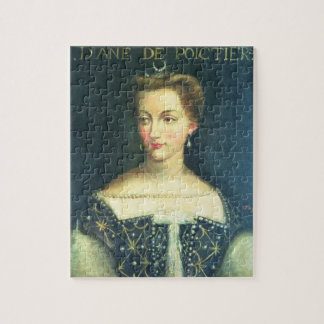 Diane de Poitiers (aceite en lona) Rompecabeza