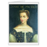 Diane de Poitiers (oil on canvas) Greeting Card